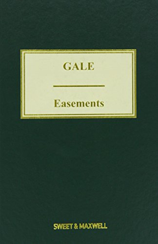 9780414043787: Gale on Easements