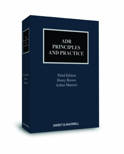 9780414044784: Adr: Principles and Practice