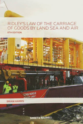 Ridley's Law of the Carriage of Goods: Brian Harris