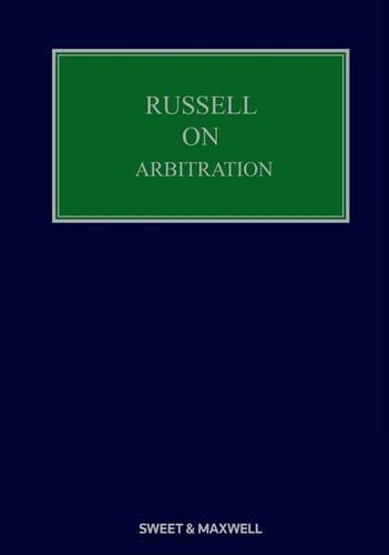Russell on Arbitration: David St.John Sutton, Judith Gill, Matthew Gearing,