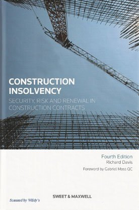 Construction Insolvency (0414046099) by Richard Davis