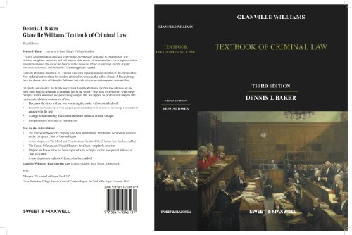 9780414046139: Textbook of Criminal Law
