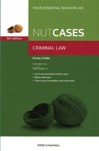 9780414046184: Criminal Law (Nutcases)