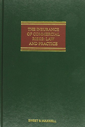 9780414046207: The Insurance of Commercial Risks: Law and Practice. Digby C. Jess