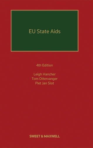 EU State AIDS: Hancher, Leigh; Ottervanger, Tom; Slot, Piet Jan