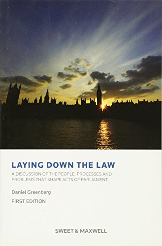 Laying Down the Law: Greenberg, Daniel