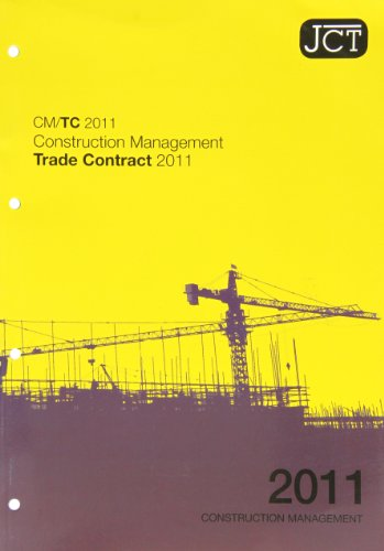 9780414047181: JCT: Construction Management Trade Contract 2011
