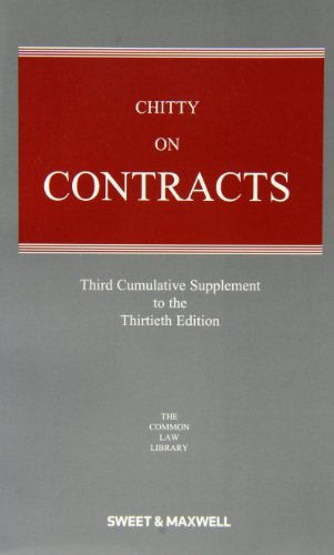 9780414047853: Chitty on Contracts: 3rd Supplement.