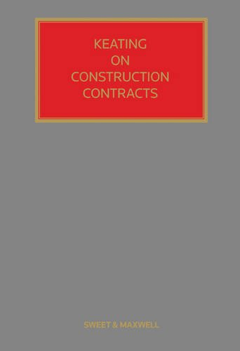 9780414047921: Keating on Construction Contracts: Mainwork & Supplement