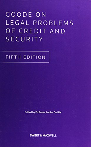 9780414048027: Goode on Legal Problems of Credit and Security