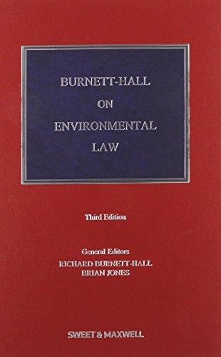 Burnett-Hall on Environmental Law (Hardcover): Richard Burnett-Hall