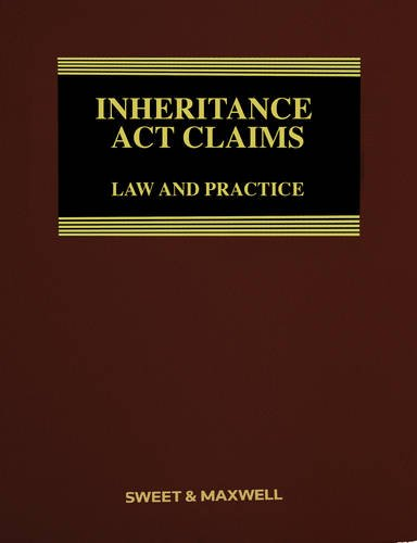 Inheritance Act Claims: Law and Practice (Hardback): Sidney Ross