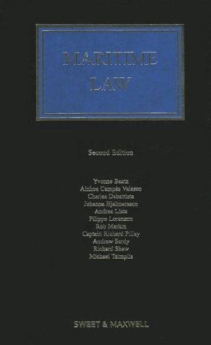 9780414048645: Maritime Law