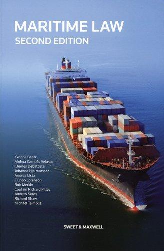 9780414048768: Maritime Law