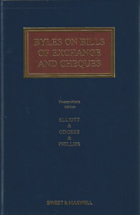 9780414049406: Byles on Bills of Exchange and Cheques