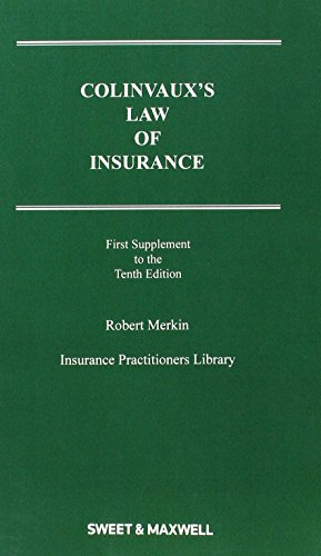 9780414050266: Colinvaux's Law of Insurance Supplement 1