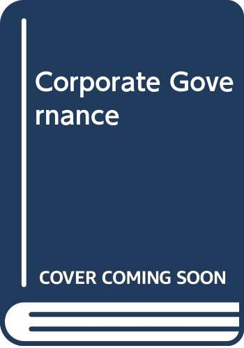 9780414050303: Corporate Governance