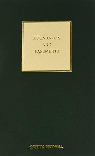 Boundaries and Easements (Hardcover): Colin Sara