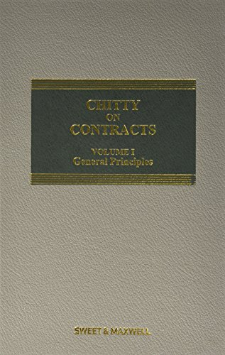9780414050679: Chitty on Contracts Volume 1