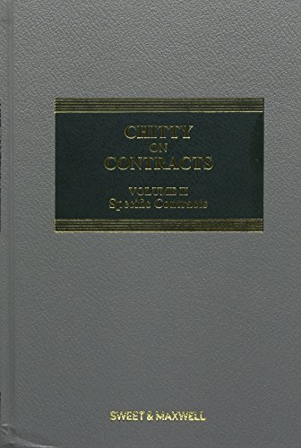 9780414050686: Chitty on Contracts Volume 2