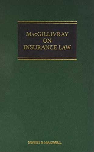 9780414050723: Macgillivray on Insurance Law