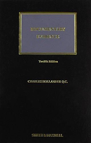 Documentary Evidence: Hollander, Charles