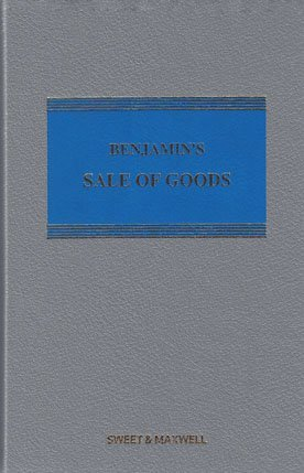 9780414051041: Benjamin's Sale of Goods Mainwork & Supplement