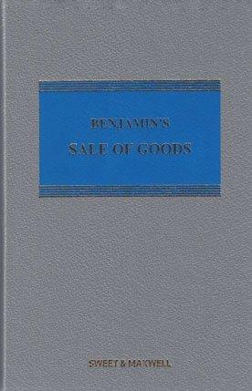 9780414051041: Benjamin's Sale of Goods Mainwork & Supplement