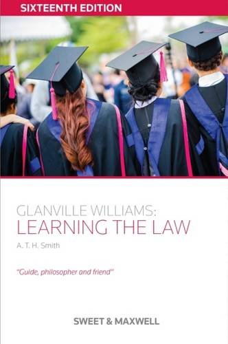 9780414051935: Glanville Williams: Learning the Law