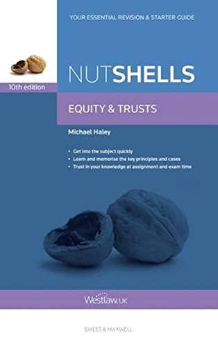 9780414052475: Nutshells Equity & Trusts