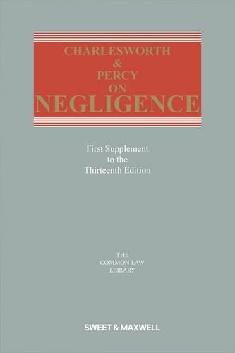 9780414052772: Charlesworth & Percy on Negligence 1st Supplement