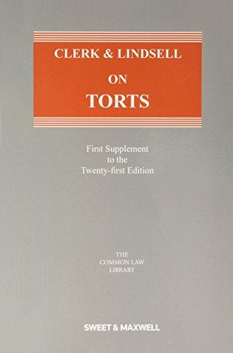 9780414052796: Clerk & Lindsell on Torts