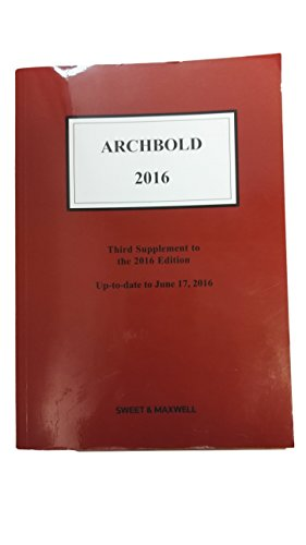 9780414054325: Archbold: Criminal Pleading, Evidence and Practice 2016 Full Print + Supplements