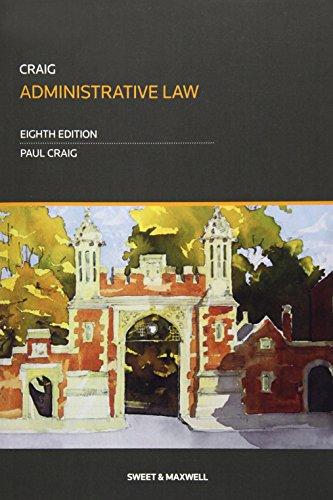9780414055681: Administrative Law
