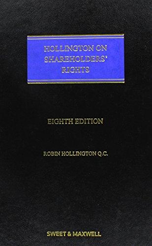 Hollington on Shareholders' Rights: Hollington, Robin