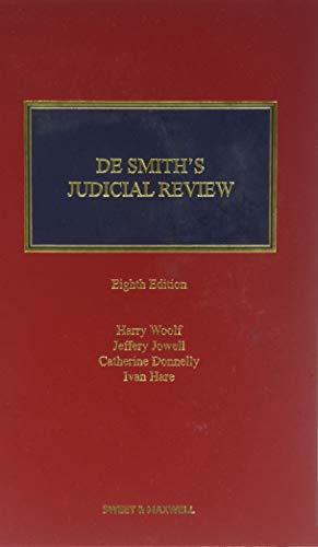 9780414064041: De Smith's Judicial Review