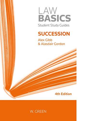 9780414065147: Succession LawBasics (Scottish Law)