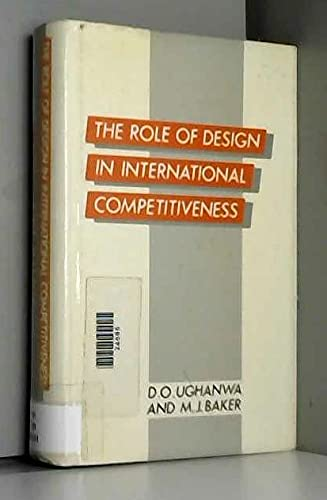 9780415000130: The Role of Design in International Competitiveness