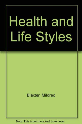 9780415001465: Health and Life Styles