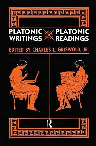 9780415001878: Platonic Writings, Platonic Readings