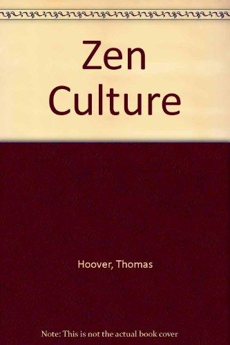 Zen Culture.: Hoover, Thomas