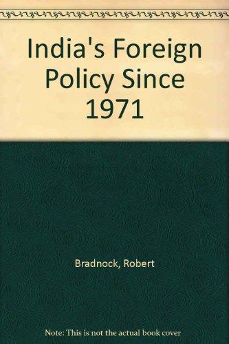 9780415002110: India's Foreign Policy Since 1971