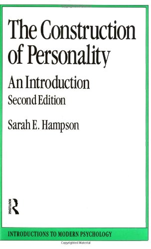 9780415002561: The Construction of Personality: An Introduction (Introductions to Modern Psychology)