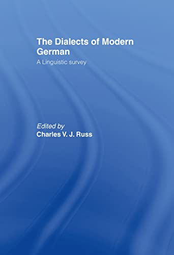 9780415003087: The Dialects of Modern German: A Linguistic Survey