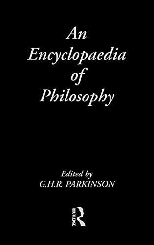 9780415003230: An Encyclopedia of Philosophy