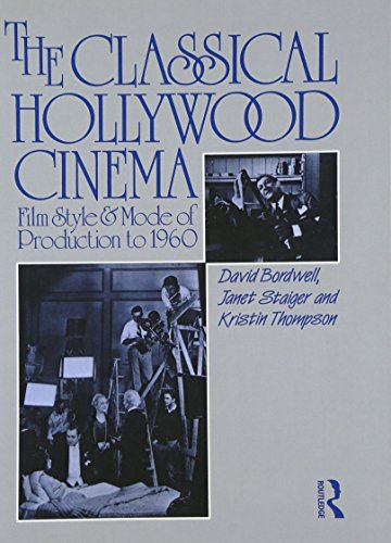 9780415003834: The Classical Hollywood Cinema: Film Style and Mode of Production to 1960