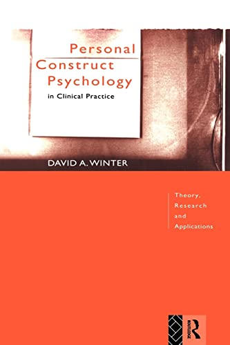 9780415006019: Personal Construct Psychology in Clinical Practice: Theory, Research and Applications