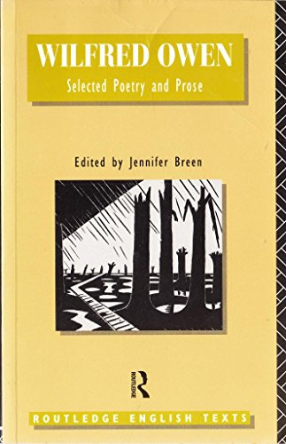 9780415007337: Selected Poetry and Prose (English Texts S.)