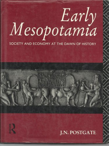 9780415008433: Early Mesopotamia: Society and Economy at the Dawn of History