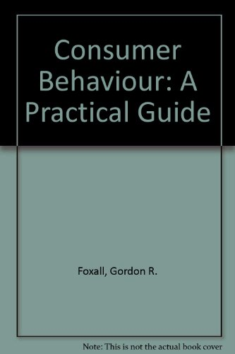 9780415008921: Consumer Behaviour: A Practical Guide